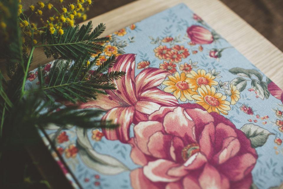 álbum de boda artesano