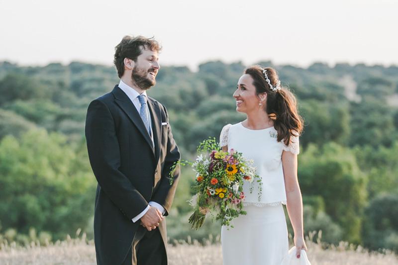 Fotografía de bodas boda campestre en toledo laure de sagazan
