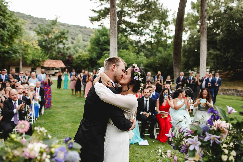 Fotografía de bodas boda monte de cutamilla